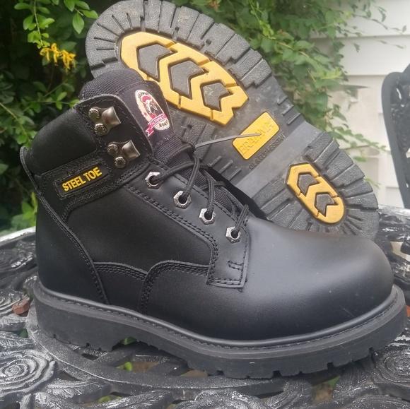 fbf63937ee9 Brahma Steel Toed Boots